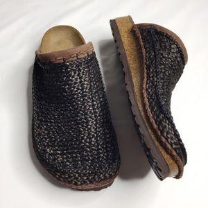 NWOT Betula Birkenstock Kenia Woven Shoes Size 8